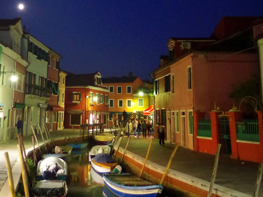 burano night