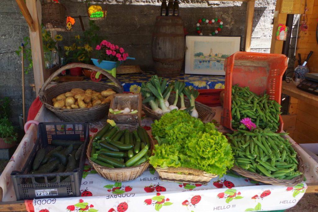 agricampeggio cavallino treporti verdure e prodotti locali freschi
