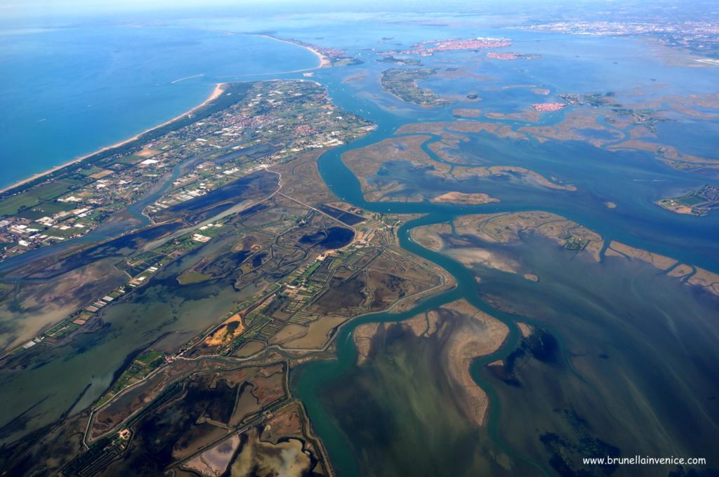 vista laguna cavallino venezia e isole