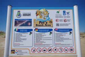 accesso cani in spiaggia cavallino