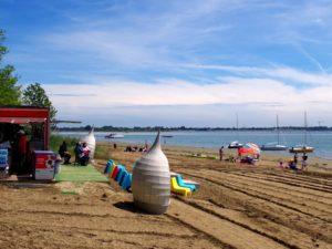 spiaggia sant erasmo
