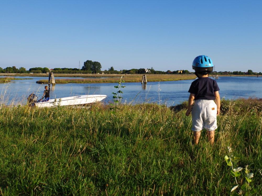 giro barca e bici bimbi