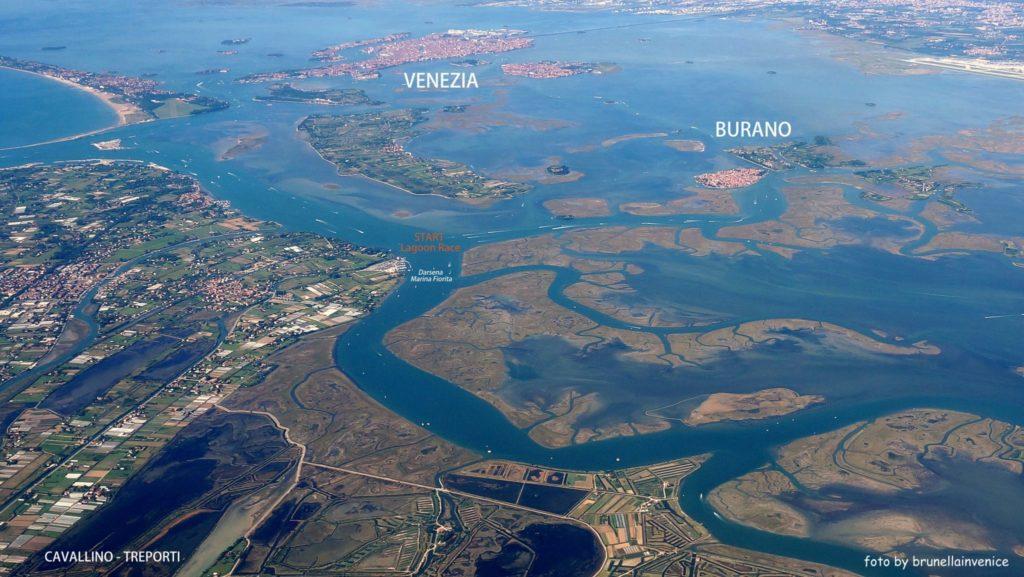 laguna nord di venezia gara di sup
