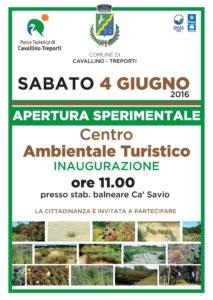 inaugurazione centro ambientale turistico cavallino treporti