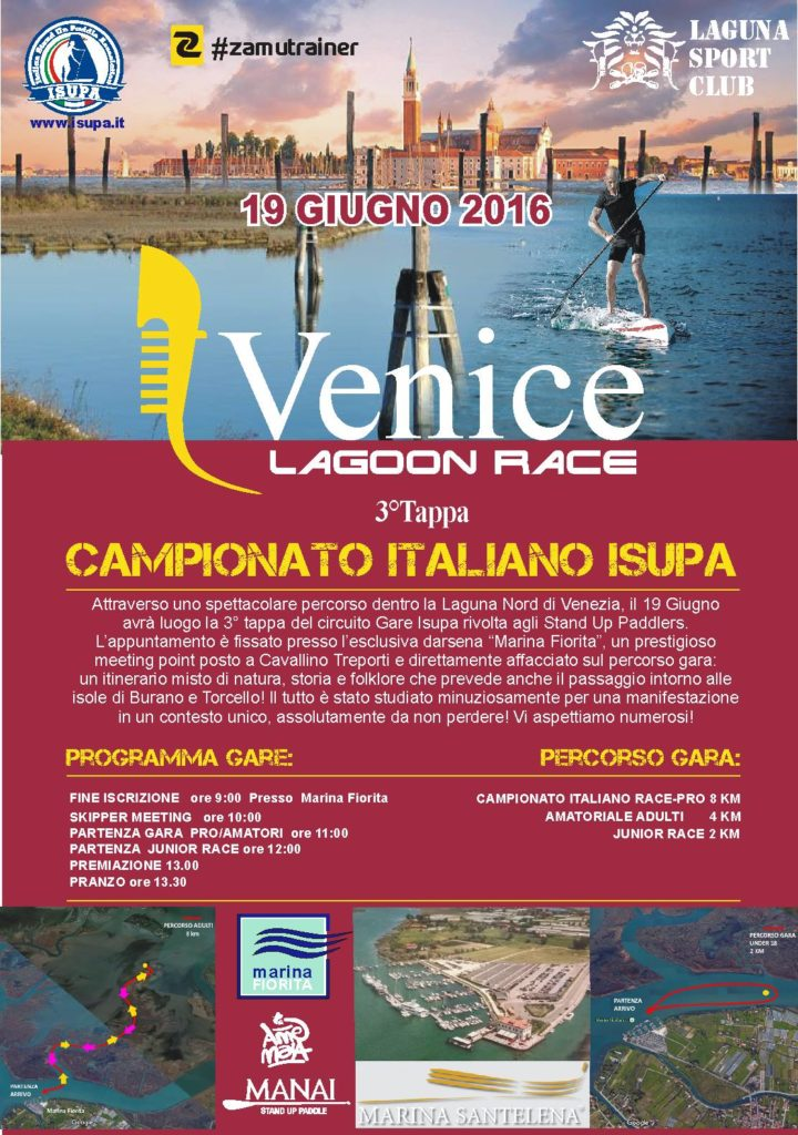 venice lagoon race