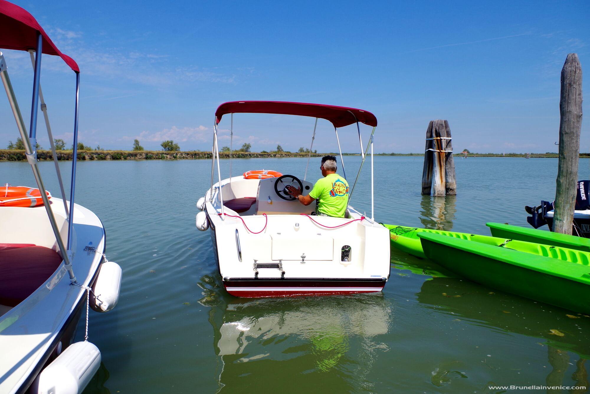 econoleggio in laguna venezia
